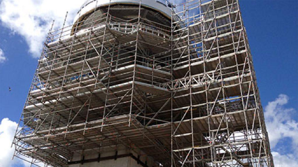 cantilever scaffolding