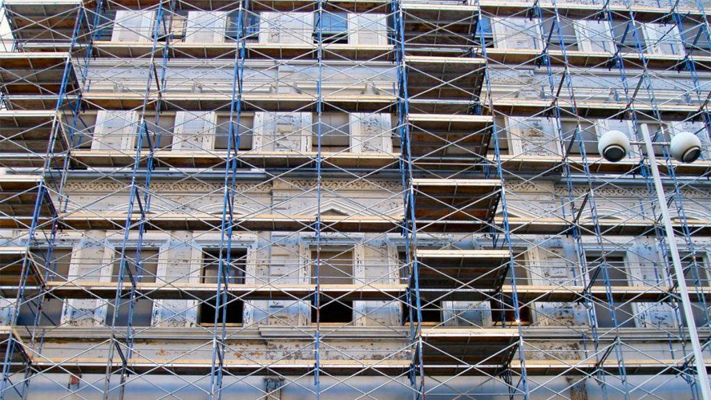 frame and brace scaffolding