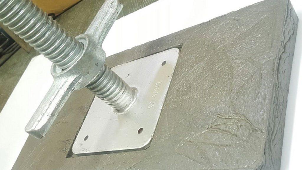 scaffolding part base plates